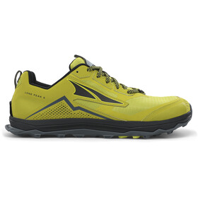 Altra Lone Peak 5 Running Shoes Men, lime/black